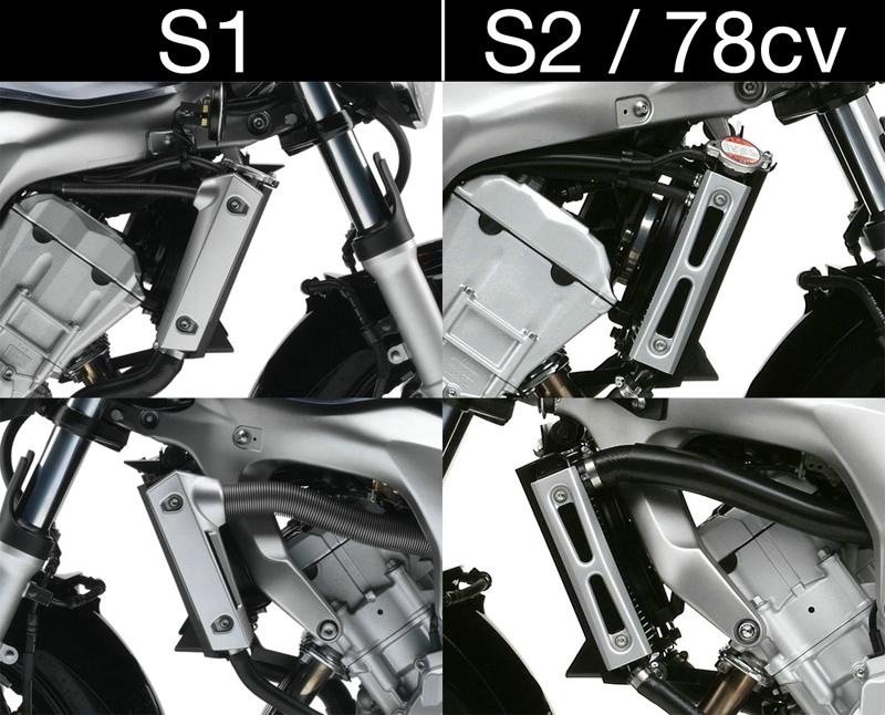 [CR] Montage d'écopes Erma'x pour FZ6N Radiat10