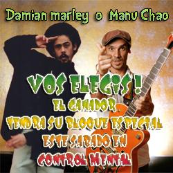 Damian Marley o Manu Chao? Vota ahora que quedan pocos días  Damian10