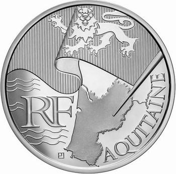 Les euros des régions 2010 Aquita11