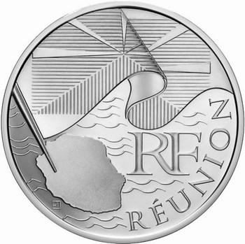Les euros des régions 2010 Reunio10