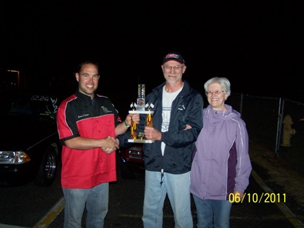 Race results for June 10th Pacific Raceways Christ10