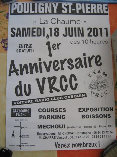 1er ANNIVERSAIRE CLUB VRCC rencontre amicale le 18juin 08910