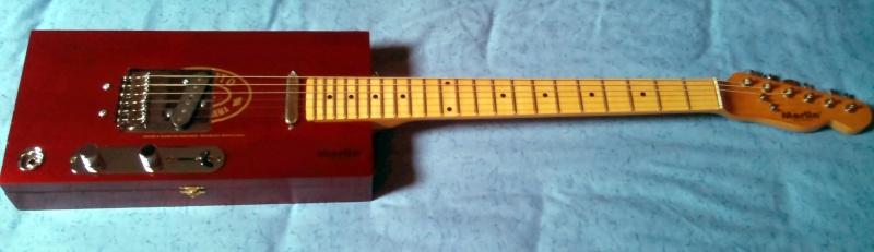 MERLIN' cigar boxes guitare No_310