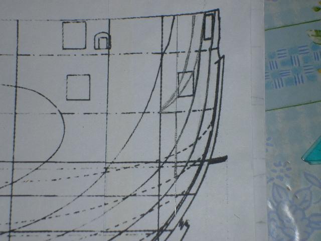 HMS Surprise di Patrik O' Brian secondo Brian Lavery... autocostruita. P1000427