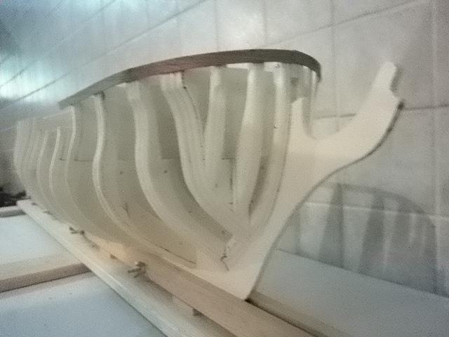 HMS Surprise di Patrik O' Brian secondo Brian Lavery... autocostruita. P1000429