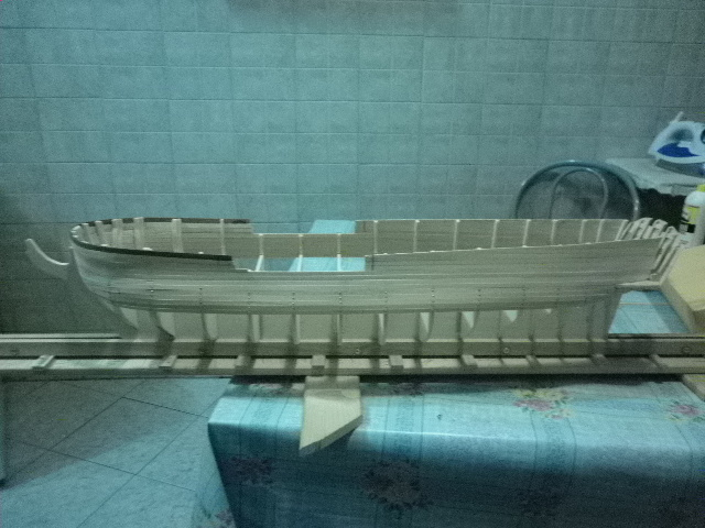 HMS Surprise di Patrik O' Brian secondo Brian Lavery... autocostruita. P1000524