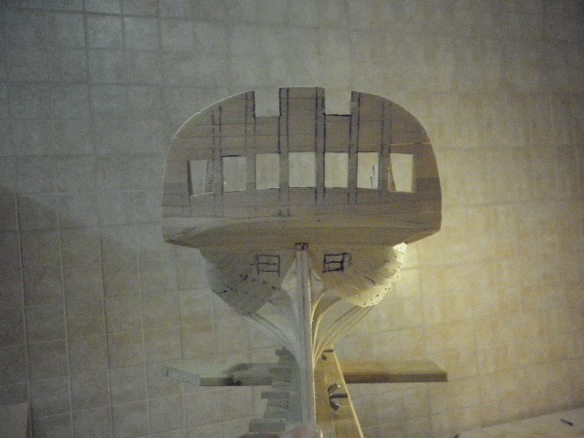 HMS Surprise di Patrik O' Brian secondo Brian Lavery... autocostruita. P1000529