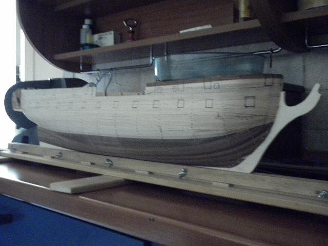 HMS Surprise di Patrik O' Brian secondo Brian Lavery... autocostruita. P1000539