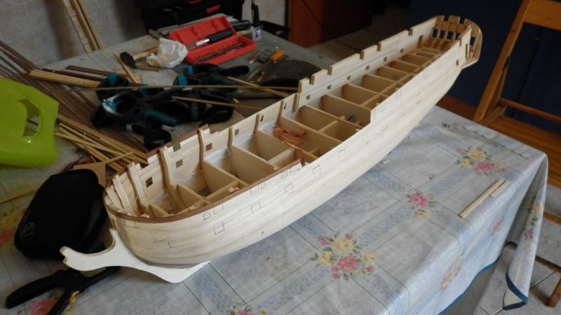 HMS Surprise di Patrik O' Brian secondo Brian Lavery... autocostruita. P1000733