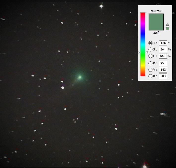 Spectro des comètes du moment ? 20042310