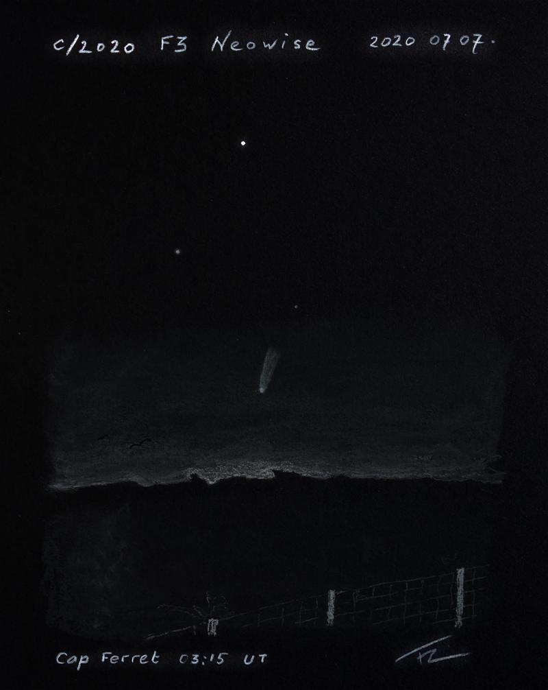 Comète C/2020 F3 NEOWISE 20070711