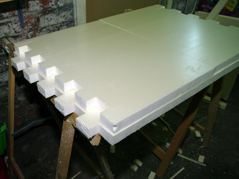 Fabrication d'un nouveau decor pour terrarium exoterra K20d5217