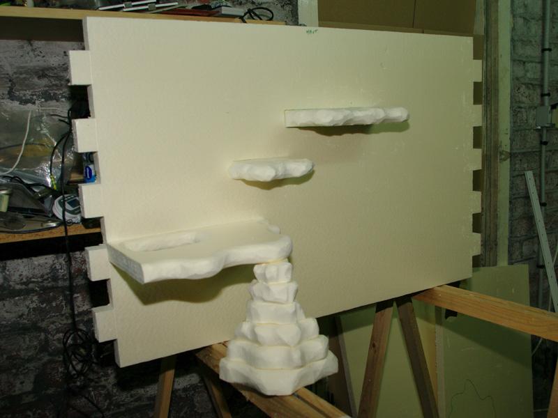 Fabrication d'un nouveau decor pour terrarium exoterra K20d5228