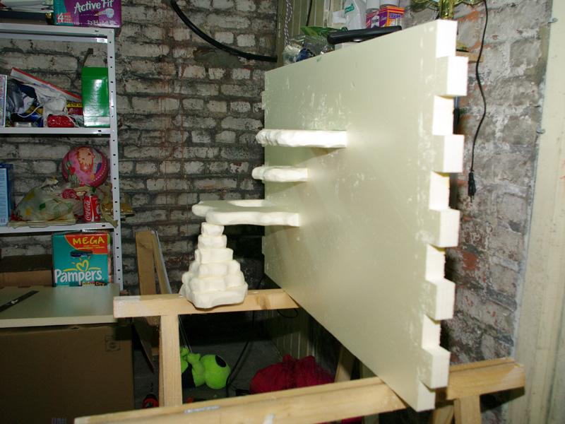 Fabrication d'un nouveau decor pour terrarium exoterra K20d5229