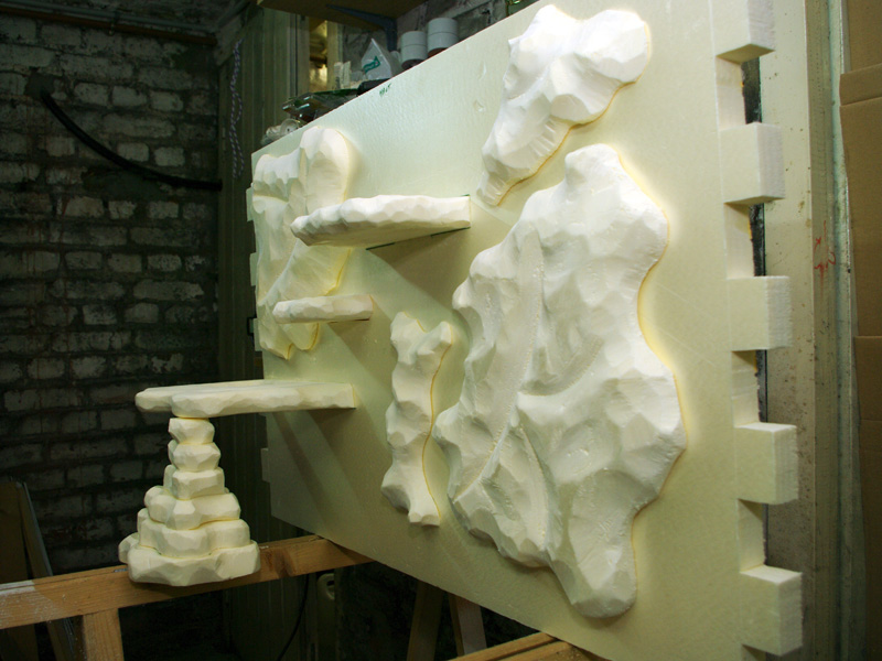 Fabrication d'un nouveau decor pour terrarium exoterra K20d5236