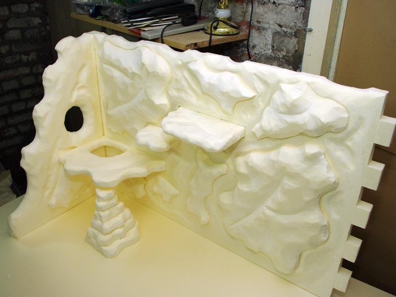 Fabrication d'un nouveau decor pour terrarium exoterra K20d5241