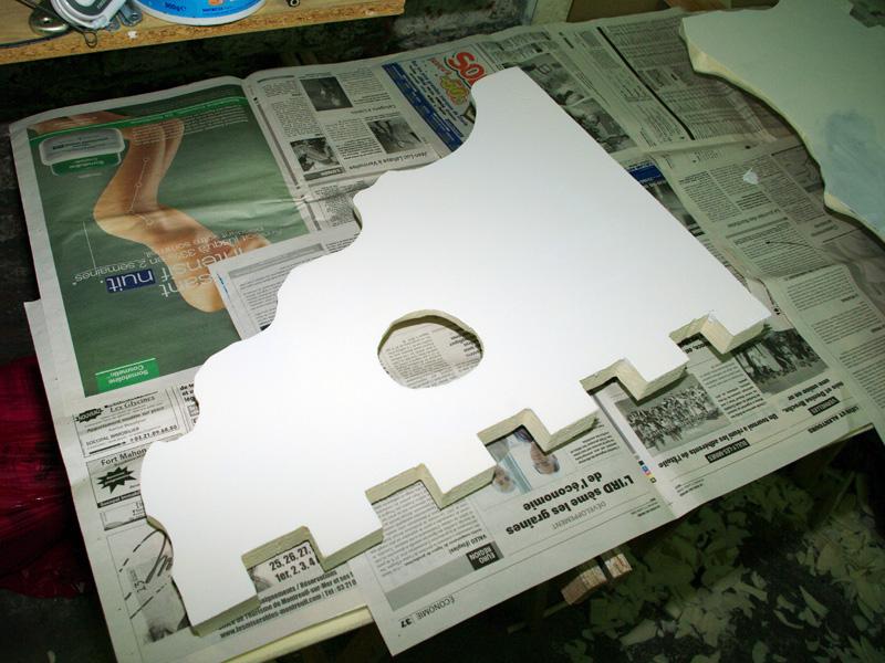 Fabrication d'un nouveau decor pour terrarium exoterra K20d5310