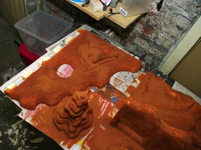 Fabrication d'un nouveau decor pour terrarium exoterra K20d5316