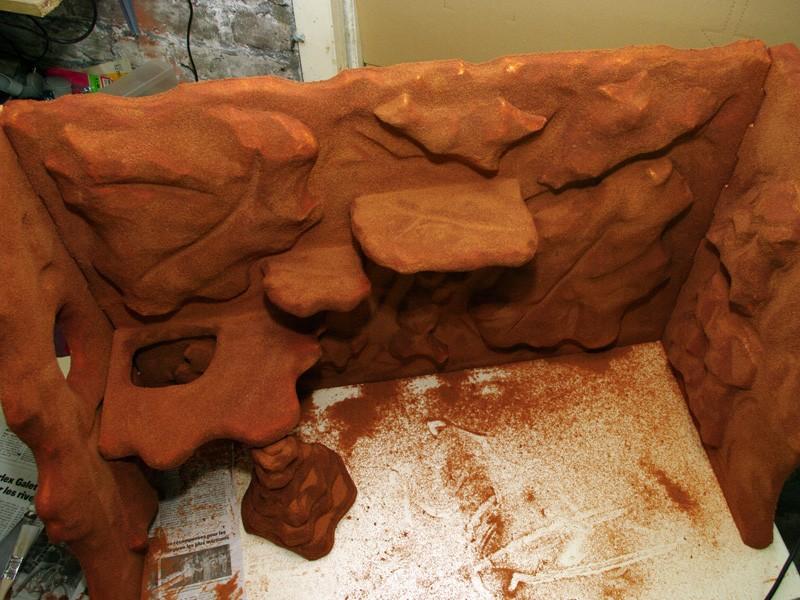 Fabrication d'un nouveau decor pour terrarium exoterra K20d5325