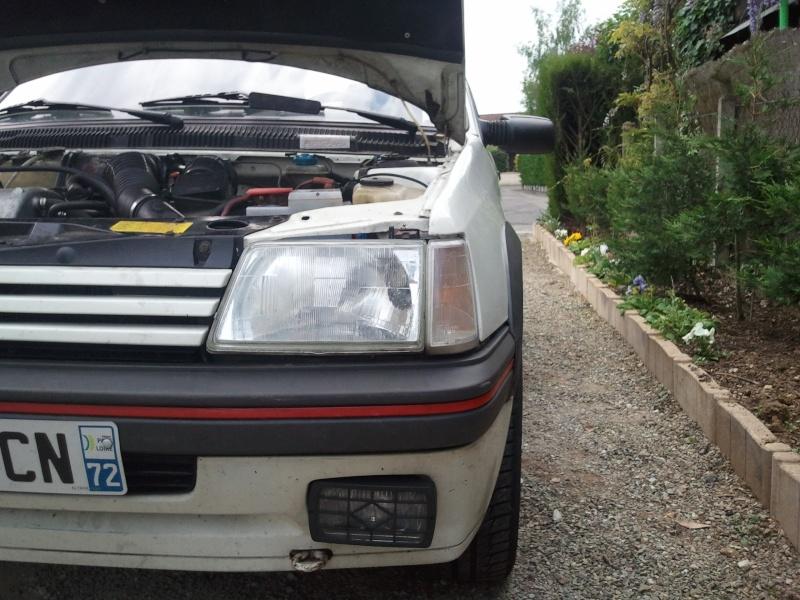 [nathan72] 205 GTI 1.6L 115cv Blanc Meije 1986 - Page 5 Photo026