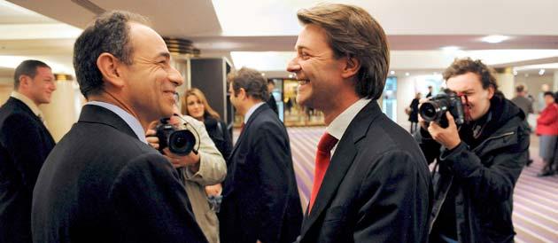 Jean-François Copé et François Baroin feraient partie des grands gagnants du prochain remaniement © Witt/Sipa 18882010