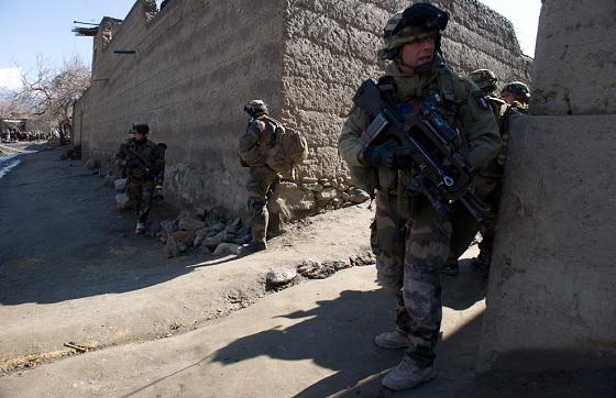 Afghanistan : La brigade La Fayette a sécurisé l'axe Vermont Afghan10