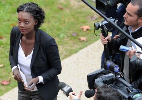 Rama Yade, a pris ses distances vendredi avec le discours tenu par Nicolas Sarkozy Articl23