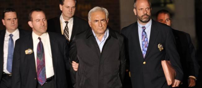 DSK inculpé «d'agression sexuelle» à New York  Dsk-me10