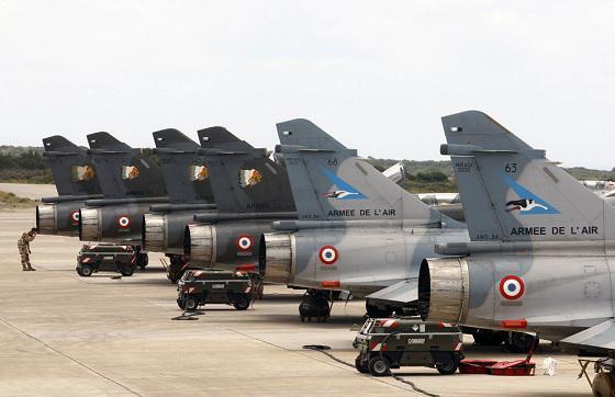 Libye : Des Mirage 2000N déployés en Crète Harmat12
