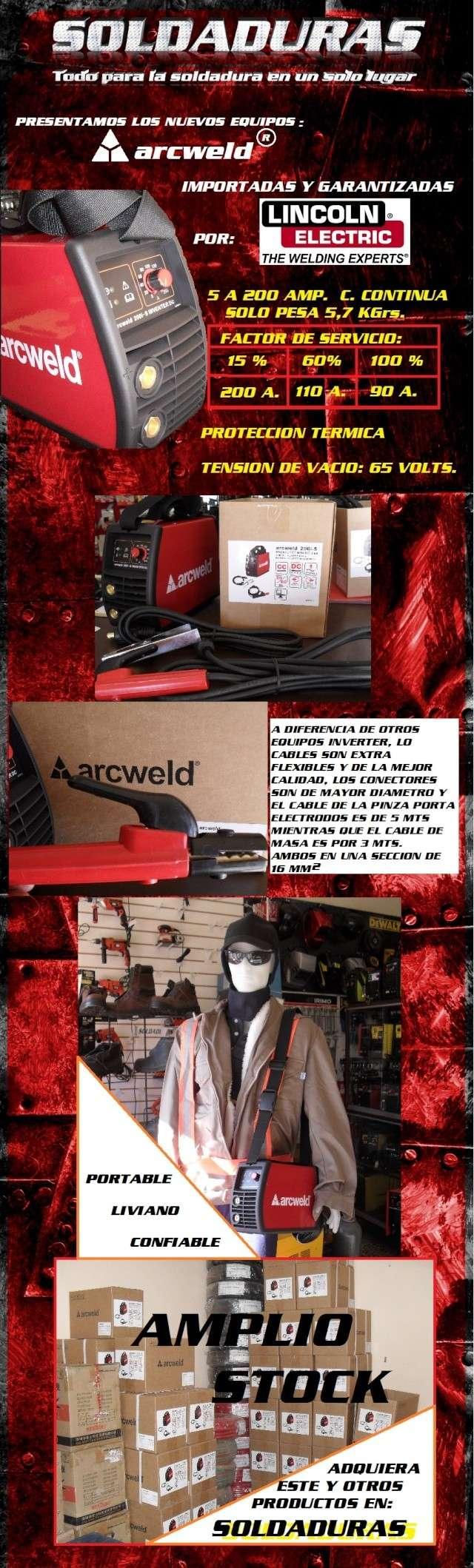 NUEVO EQUIPO DE SOLDADURA INVERTER ARCWELD 200 I-S Arcwel10