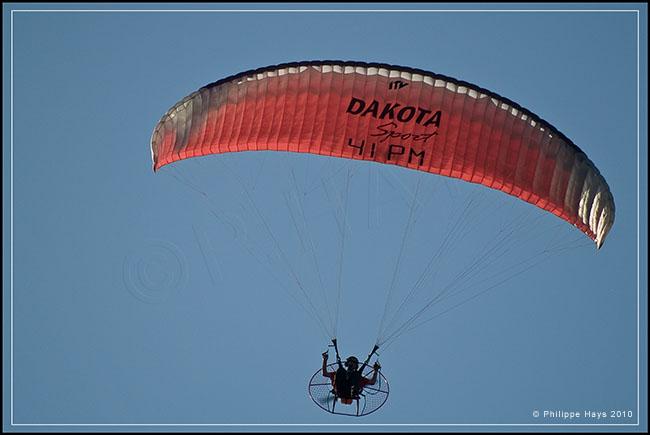 Paramoteurs. 20101022