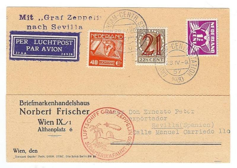 Liechtenstein - Zeppelin-Zuleitungspost 57_i_n10