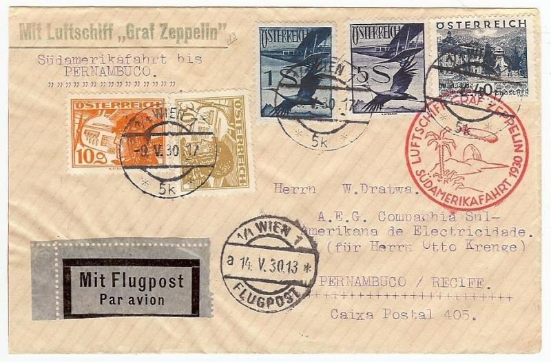 Liechtenstein - Zeppelin-Zuleitungspost 57_k_a10