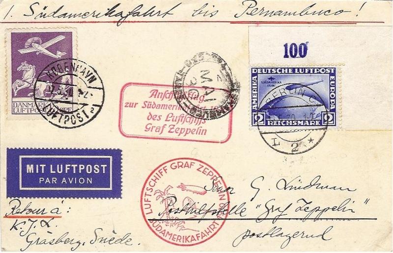Liechtenstein - Zeppelin-Zuleitungspost 57_r_a10