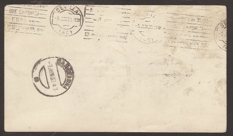 Spanische Zeppelinpost Scanne10