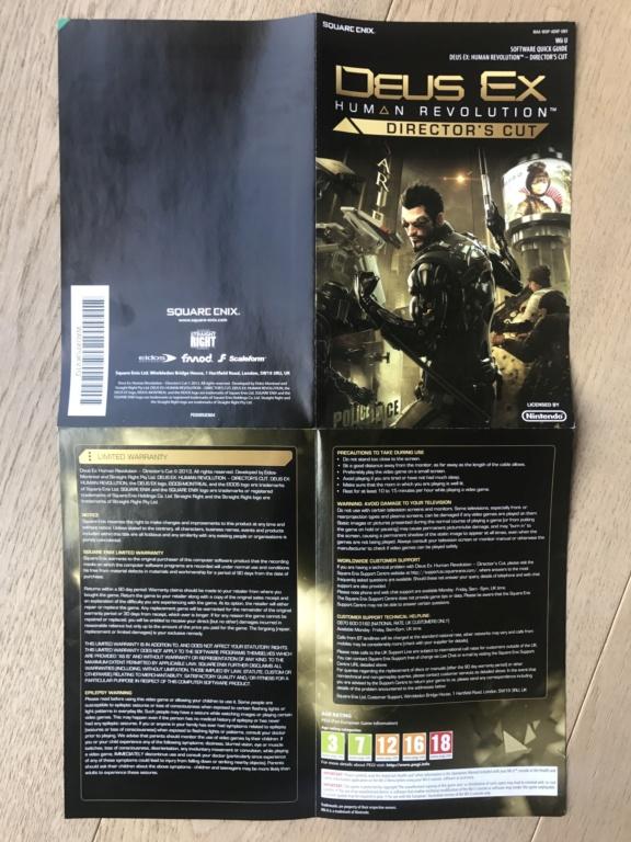 Deus Ex Human Revolution  Director's Cut Wiiu  Img_6311
