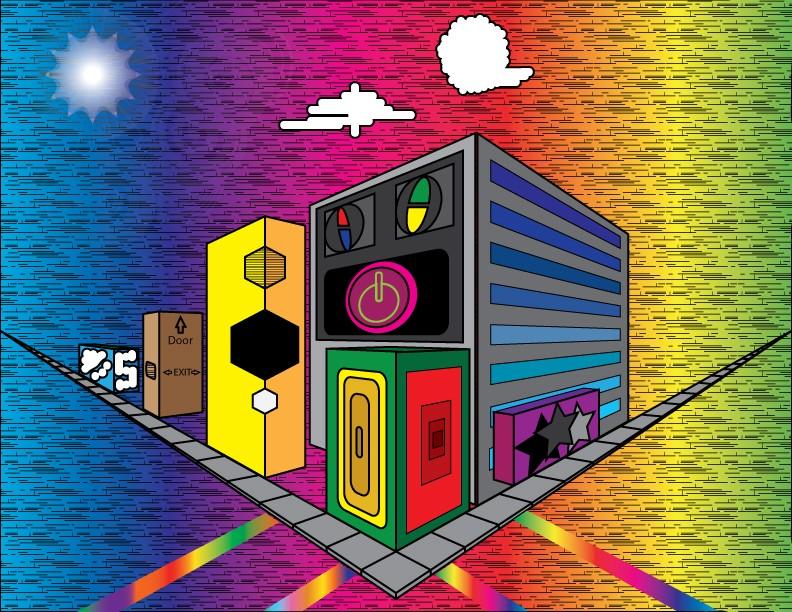 Le doodles corner! City10
