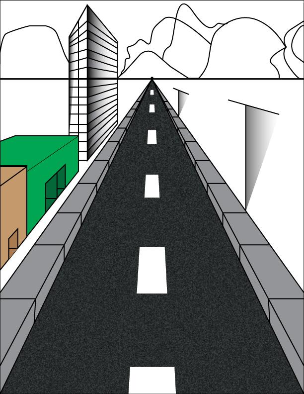 Le doodles corner! Road10