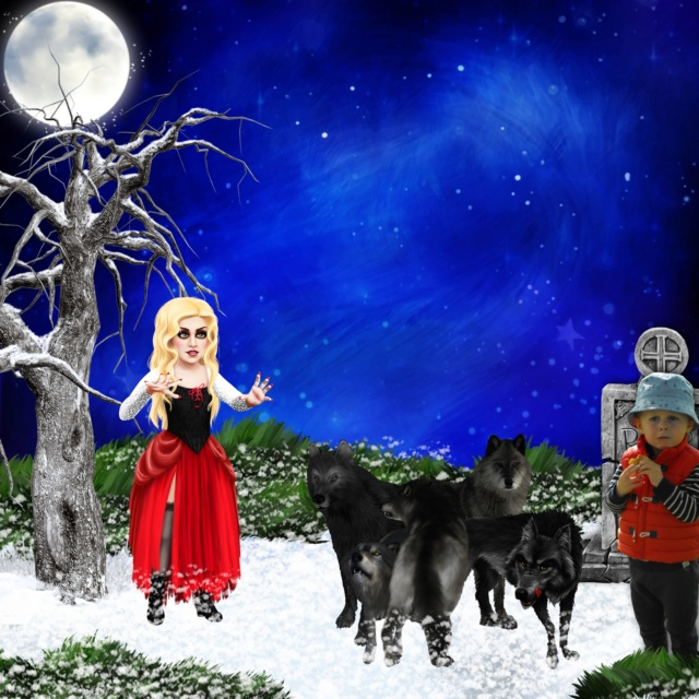 FULL MOON NIGHT IN WINTER - lundi 30 novembre / monday november 30th Realis27