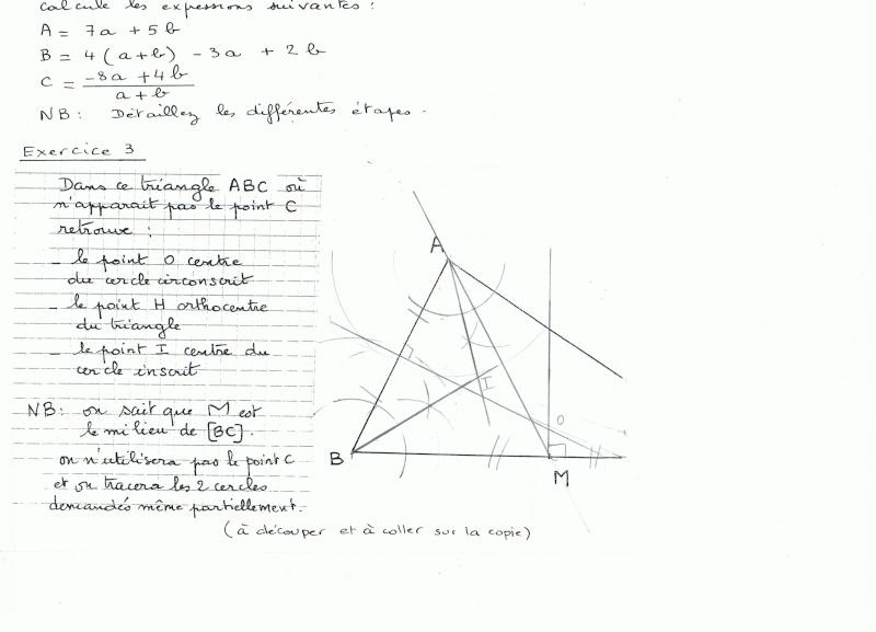 Probleme de geometrie  Ccf01112