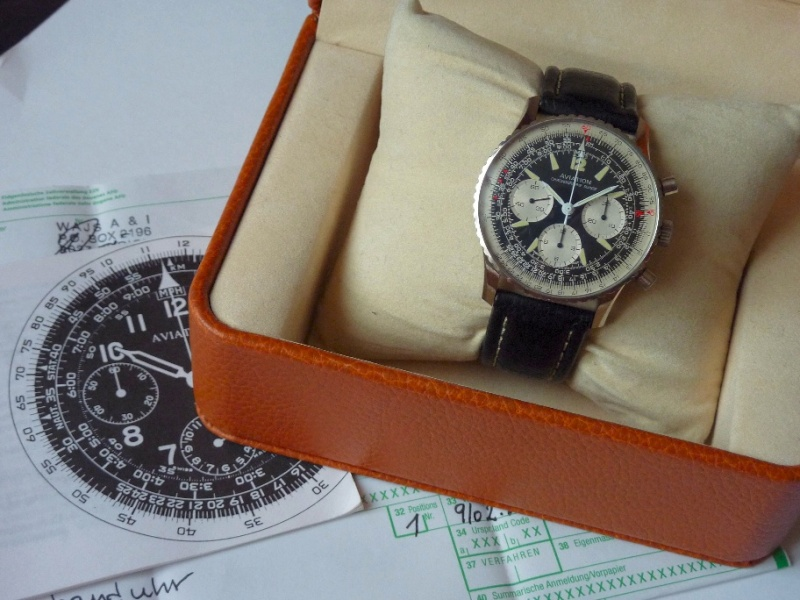 Navitimer Aviation Ollech & Wajs  NOS Aviati10