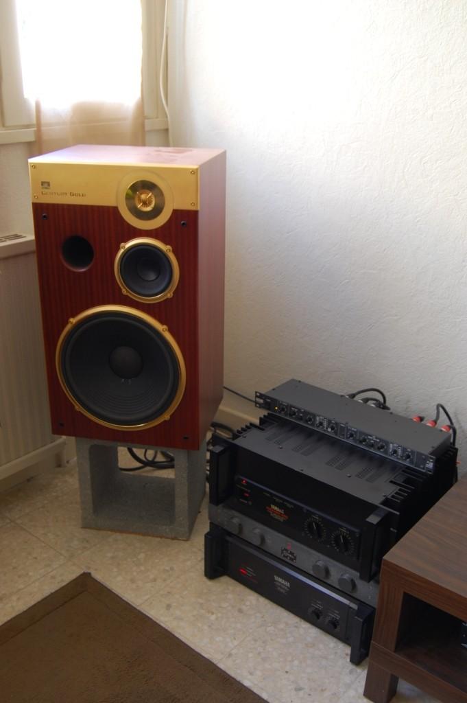Systèmes en Bi-amp Centur10