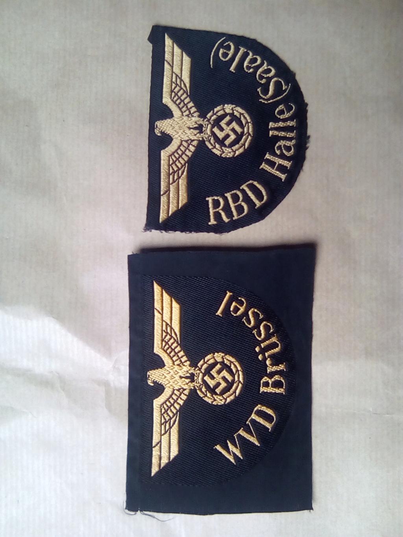 Divers insignes et pattes d'épaules allemandes Img_2056