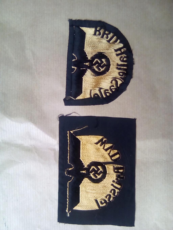 Divers insignes et pattes d'épaules allemandes Img_2057