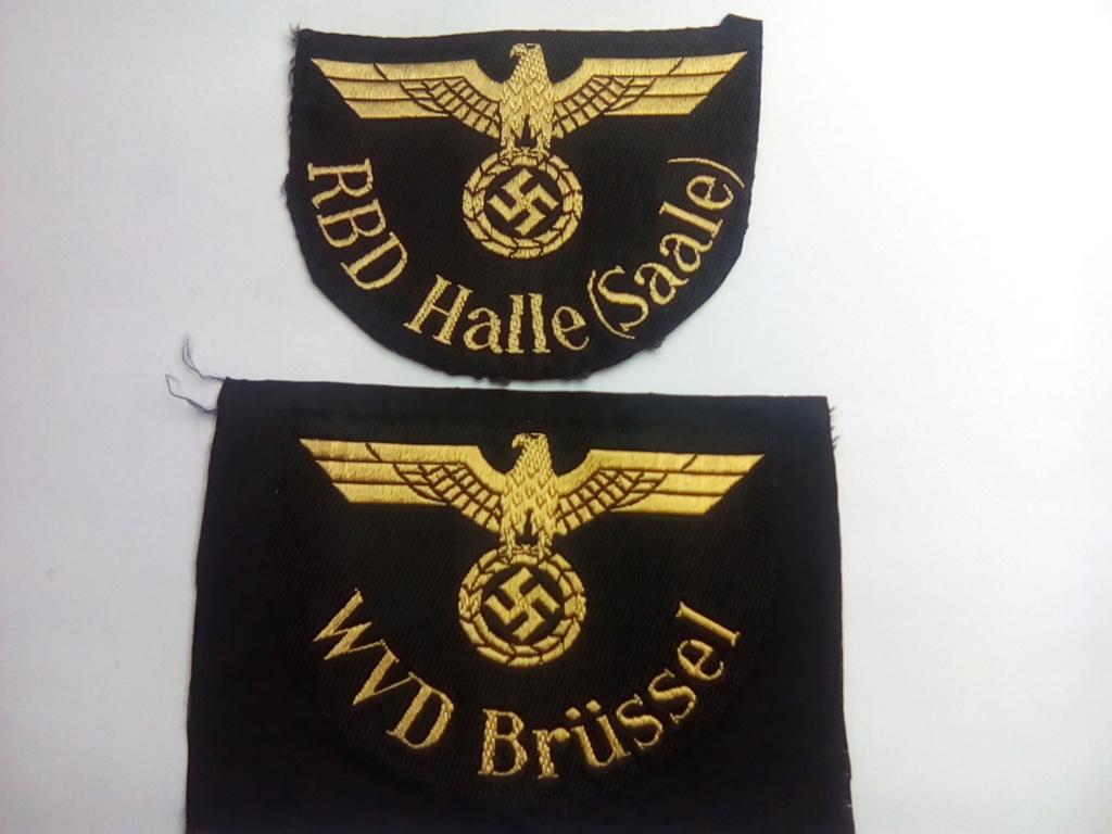 Divers insignes et pattes d'épaules allemandes Img_2062