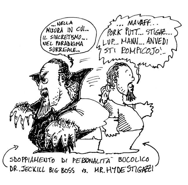 1- Personaggi: Dr Jekill e Mr Hide ( la scissione) Dr_jek10