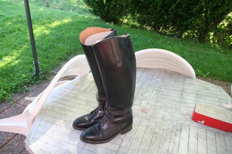 Bottes d'équitation en cuir T37 XL 27-05_10