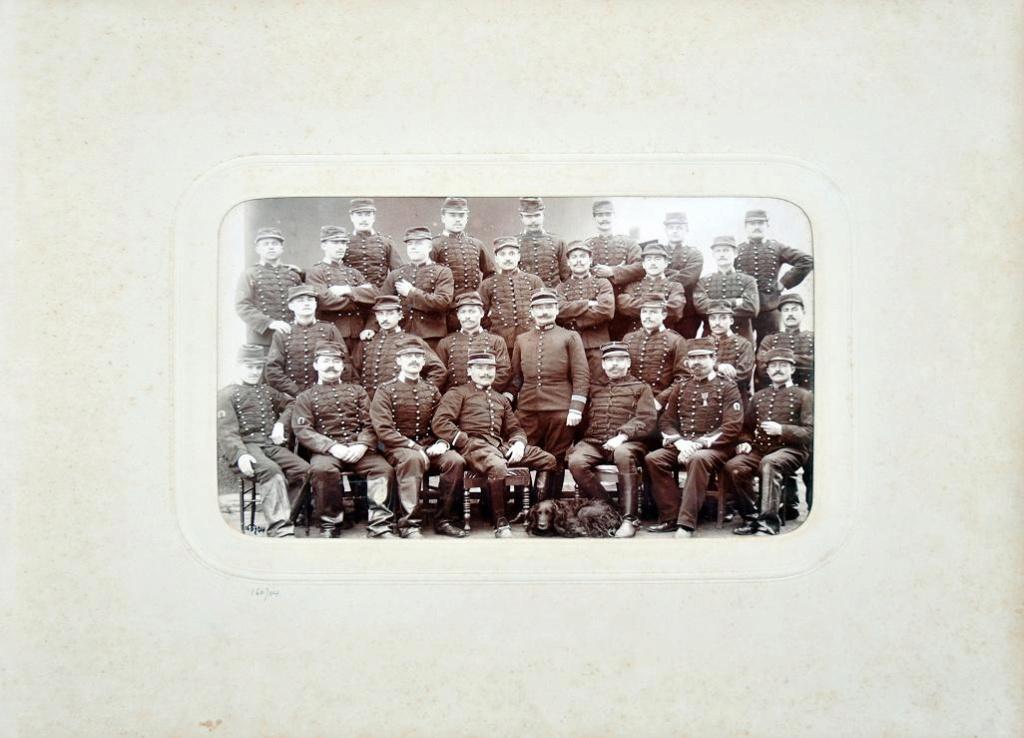Album du 25e Dragon de 1897 en photo originale 1010