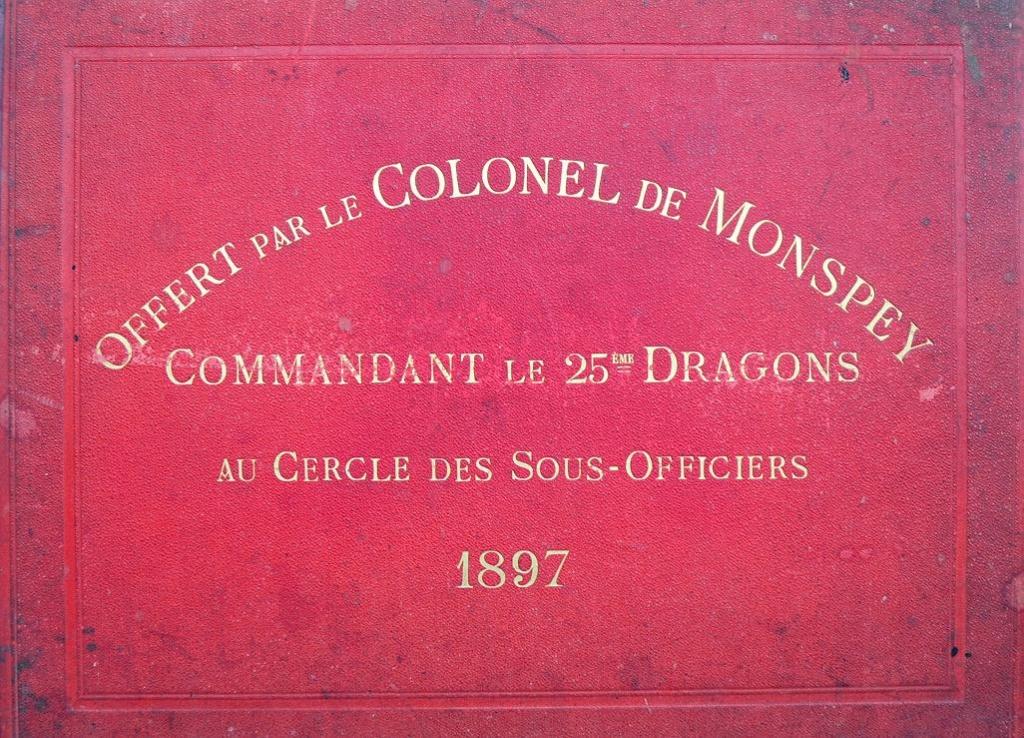 Album du 25e Dragon de 1897 en photo originale 110