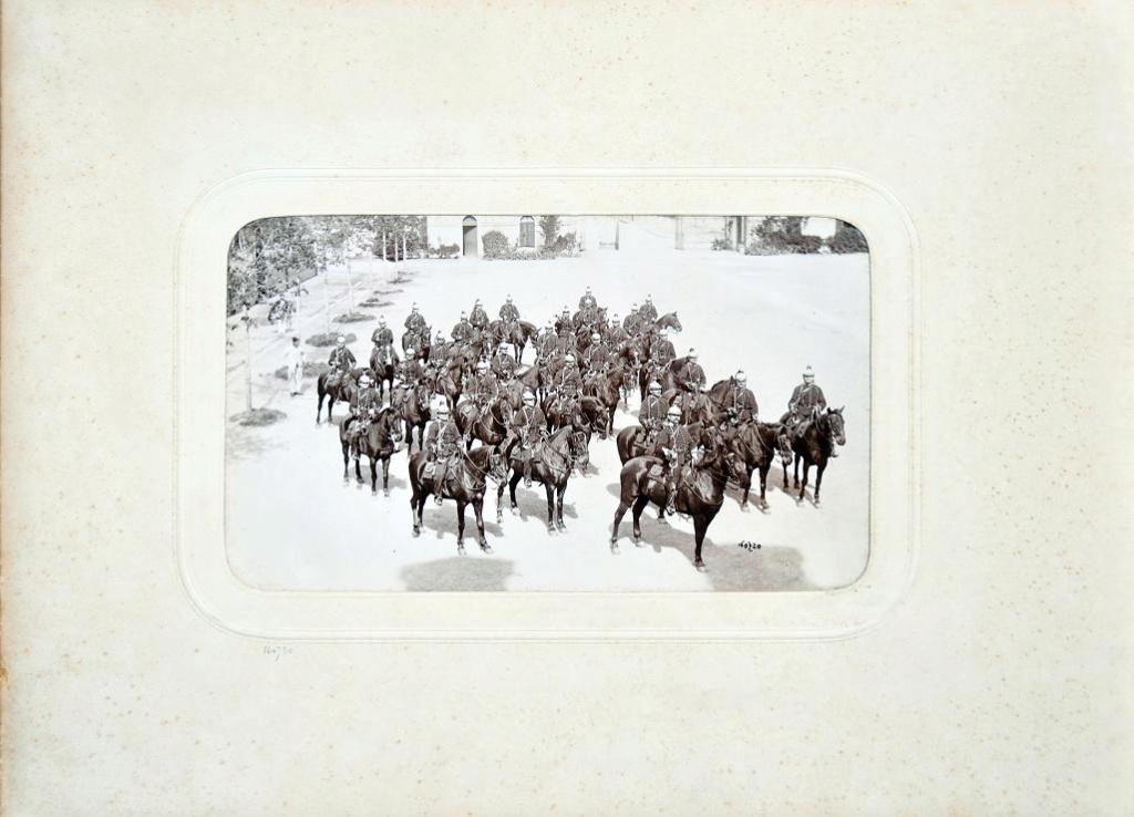 Album du 25e Dragon de 1897 en photo originale 1110